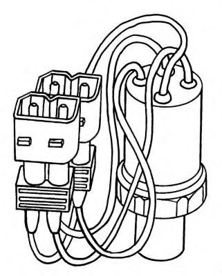 Пневматический выключатель, кондиционер NRF арт. 38903