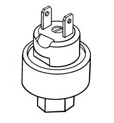 Пневматический выключатель, кондиционер NRF арт. 38904