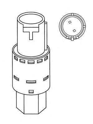 Пневматический выключатель, кондиционер NRF арт. 38917