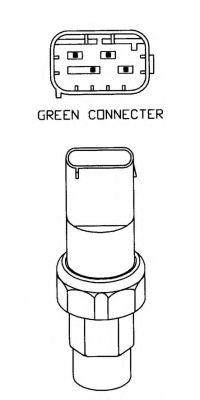 Пневматический выключатель, кондиционер NRF арт. 38925