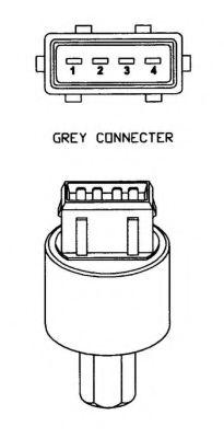 Пневматический выключатель, кондиционер NRF арт. 38928