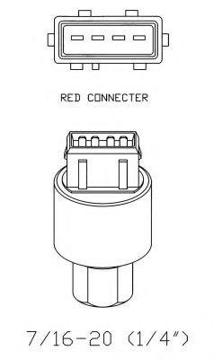 Пневматический выключатель, кондиционер NRF арт. 38936