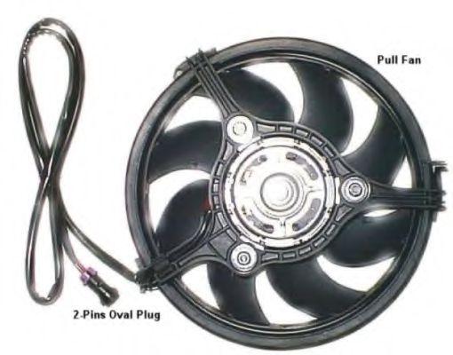 Вентилятор, охлаждение двигателя NRF арт. 47384