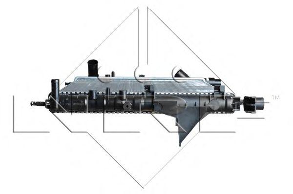 Радіатор охолоджування NRF 509513