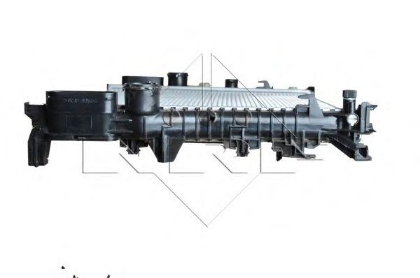 Радиатор, охлаждение двигателя NRF арт. 53423