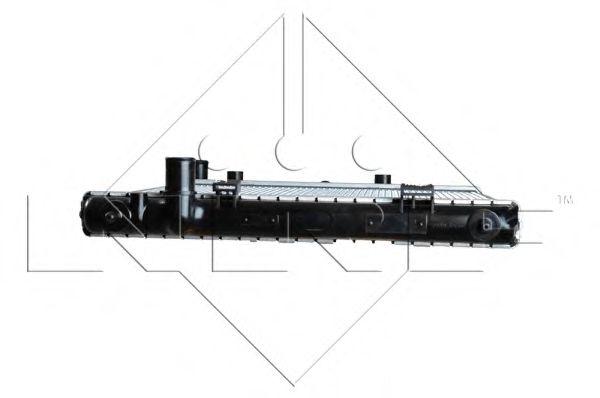 Радиатор, охлаждение двигателя NRF арт. 53531