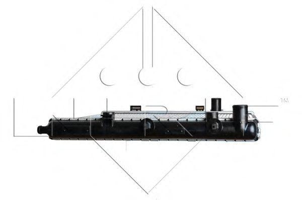 Радіатор охолоджування NRF 53531
