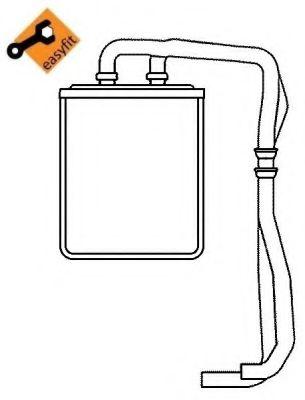 Теплообменник, отопление салона NRF арт. 54219