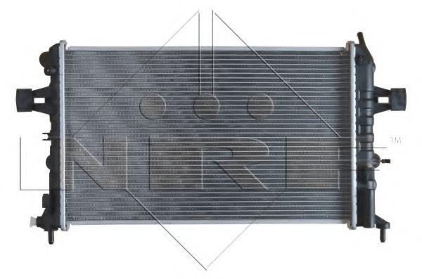 Радиатор, охлаждение двигателя NRF арт. 54668