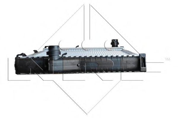 Радиатор, охлаждение двигателя NRF арт. 55321