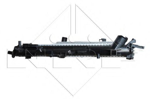 Радиатор, охлаждение двигателя NRF арт. 58203