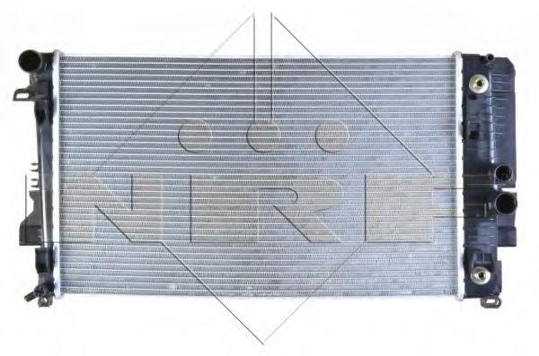 Радиатор, охлаждение двигателя NRF арт. 58440
