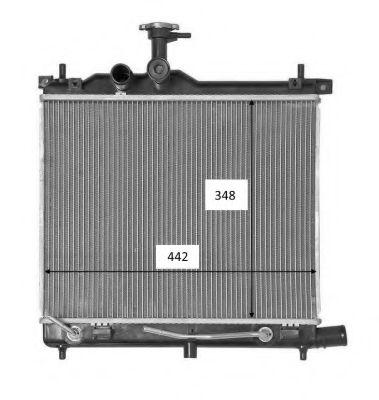 Радіатор охолоджування NRF 58460