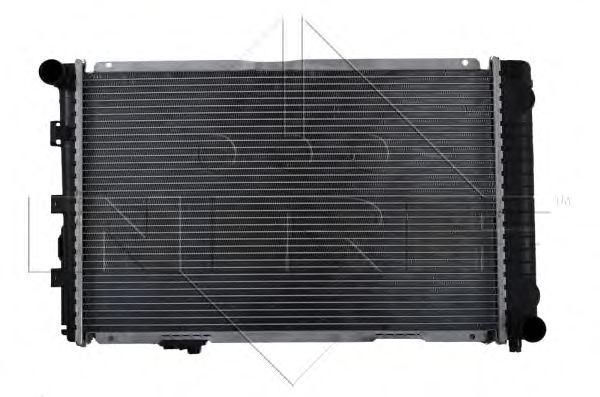 Радиатор, охлаждение двигателя NRF арт. 58925