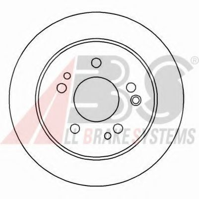 Тормозной диск ABS арт. 15779
