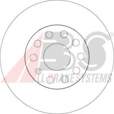 Тормозной диск ABS арт. 17521