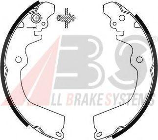 Комплект тормозных колодок ABS арт. 8903