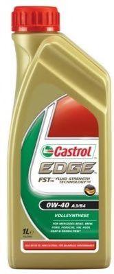 Масла моторные Моторное масло CASTROL EDGE FST 0W-40 (1л.)  арт. 24877