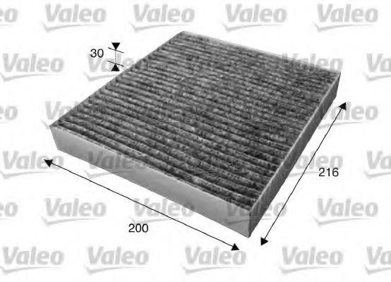 Фильтры прочие Фильтр, воздух во внутренном пространстве VALEO арт.