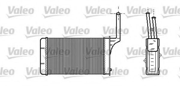 Теплообменник, отопление салона VALEO арт. 812114