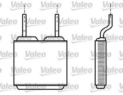 Теплообменник, отопление салона VALEO арт. 812149