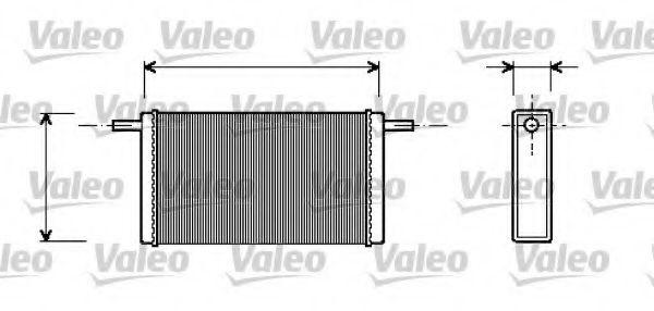 Теплообменник, отопление салона VALEO арт. 812245