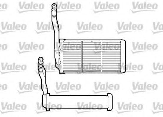 Теплообменник, отопление салона VALEO арт. 812268