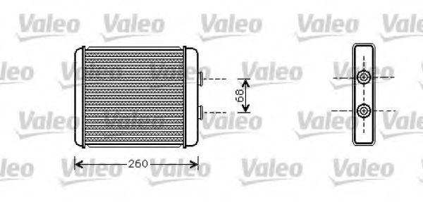 Теплообменник, отопление салона VALEO арт. 812284