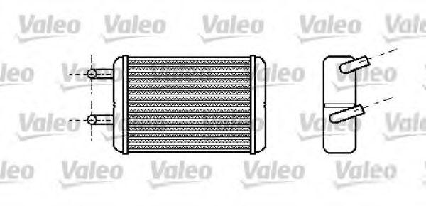 Теплообменник, отопление салона VALEO арт. 812286