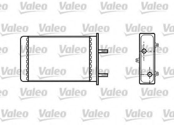 Теплообменник, отопление салона VALEO арт. 812334