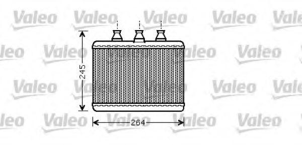 Теплообменник, отопление салона VALEO арт. 812365