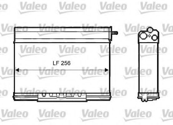 Радіатор пічки Valeo 812401
