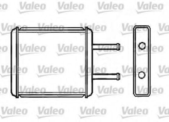 Теплообменник, отопление салона VALEO арт. 812412