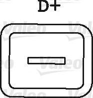Генератор VALEO арт. 436149