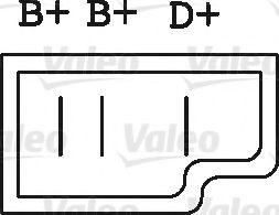 Генератор VALEO арт. 436150