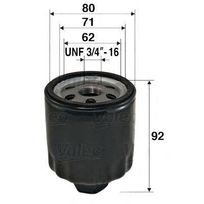 Масляный фильтр VALEO арт.