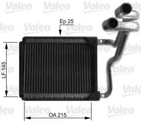 Теплообменник, отопление салона VALEO арт. 812441