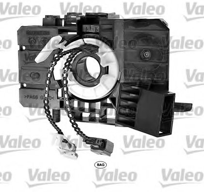 Витая пружина, подушка безопасности VALEO арт. 251650