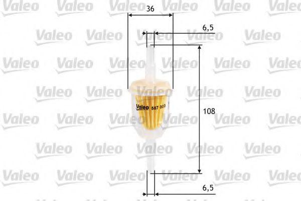Топливный фильтр VALEO арт. 587000
