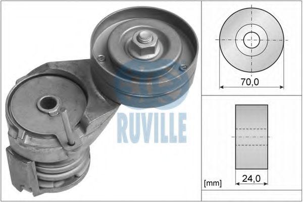 Натяжная планка, поликлиновой ремень RUVILLE арт. 55738