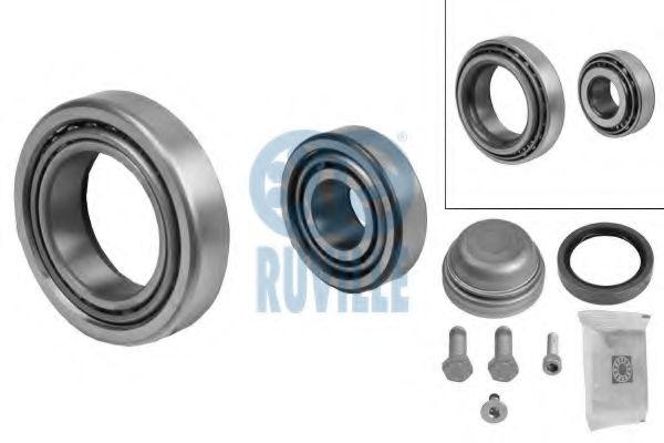 Комплект подшипника ступицы колеса RUVILLE арт. 5124