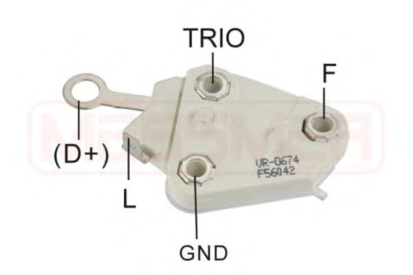 Регулятор генератора ERA арт. 215129