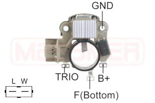 Регулятор генератора ERA арт. 215559