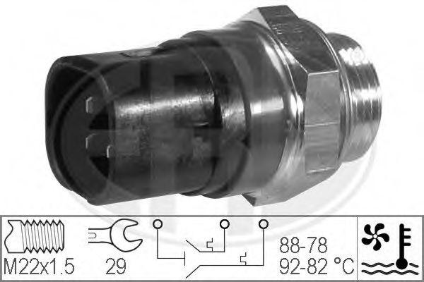 Термовыключатель, вентилятор радиатора ERA арт. 330219
