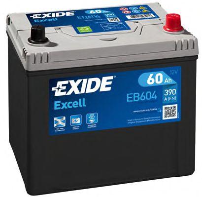 Стартерная аккумуляторная батарея EXIDE арт.