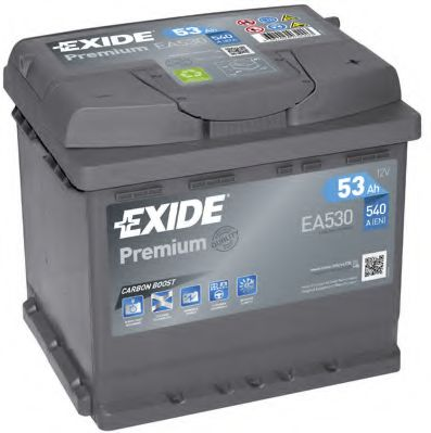 Стартерная аккумуляторная батарея EXIDE арт. EA530