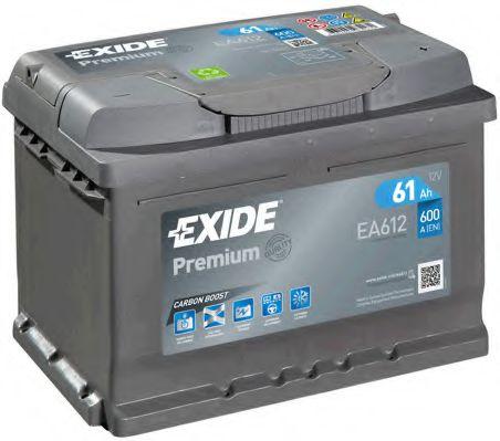 Стартерная аккумуляторная батарея EXIDE арт. EA612
