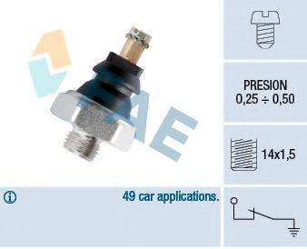 Датчик давления масла FAE арт. 10250