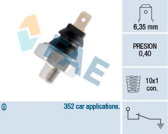 Датчик давления масла FAE арт. 11060