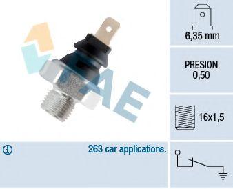 Датчик давления масла FAE арт. 11270